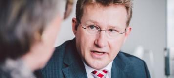 Stock und Lenz Anwaltskanzlei Markdorf Stock Gespräch